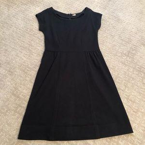 JCrew Black Cap Sleeve Dress - Size 4